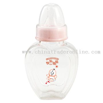 Heart Type Feeding Bottle