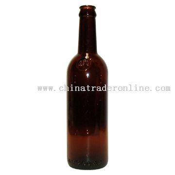 415ml Brown Glass Bottle from China