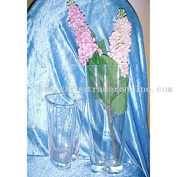 """6"""" Tall Square Glass Vase - Discount Wholesale Vases and Containers"""
