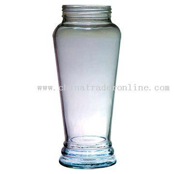 Narrow-Bottomed Tapering Jar
