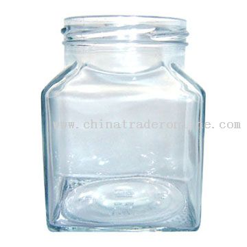 Square Screw-Top Jar