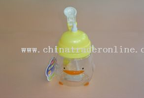 children water bottle with flip cover from China