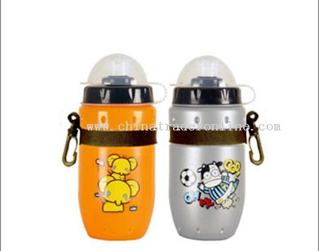 HDPE Sports Bottles with keychian