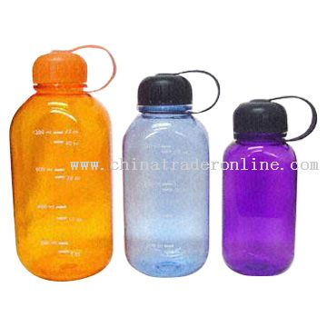 Rectangular Sports Water Bottles