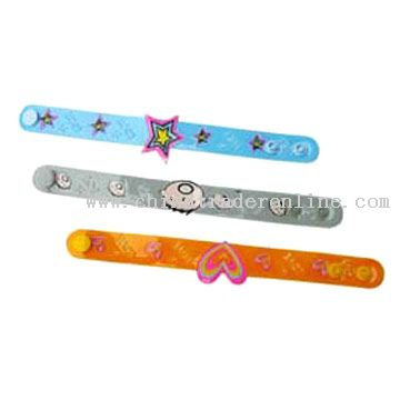 PVC Wristbands from China