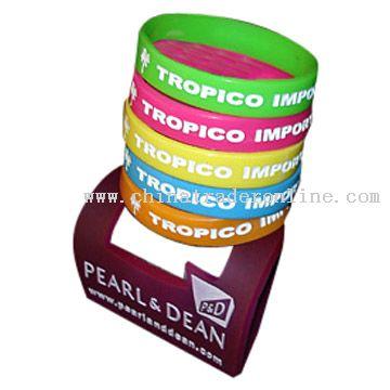 Polishing Silicone Bracelets