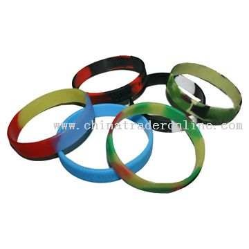 Silicon Wrist Band from China