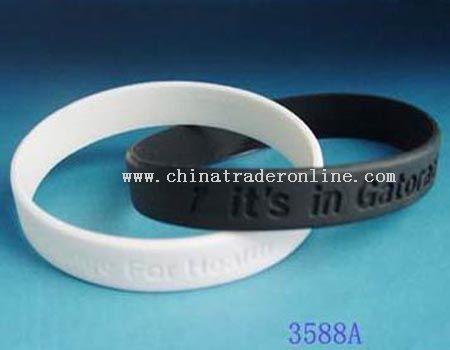 Two-Piece Set Silicone Wrist Bands