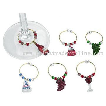 Wine Charms from China