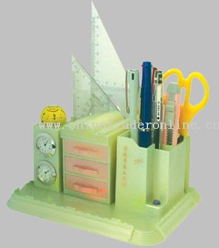 Luminous Building Stationery Holder