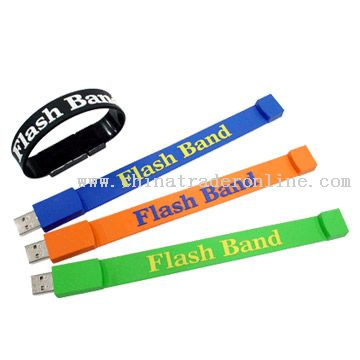 USB Flash Drive as a Bracelet