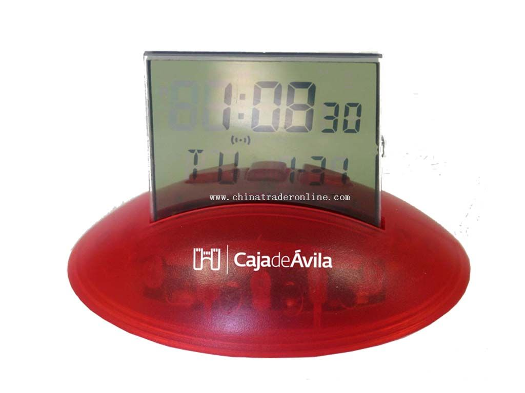 Thermometer calendar Alam clock from China