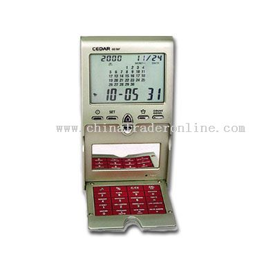 Pocket Calendar with Calculator
