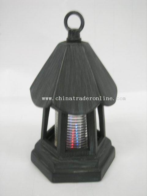 BLACK LED CANDLEHOLDER