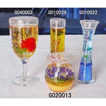 Jelly Candles, Glass Candles from China