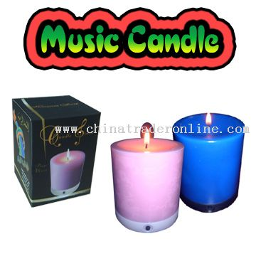 4 inch Musical Candle