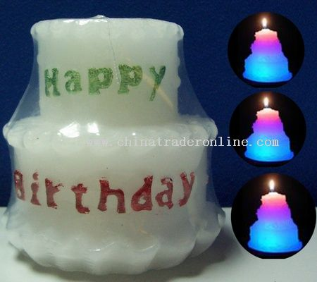 Birthday Cake Candle Lamp