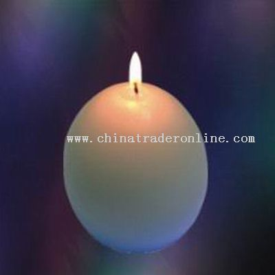 Egg Shape Candle Lamps with 7 Colors Led from China