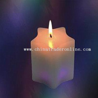 Five Point Star Shape Candle Lamps with 7 Colors Led