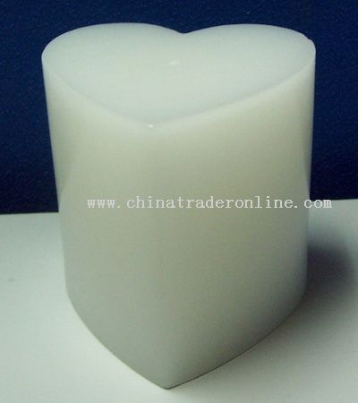 Heart Shape Candle Lamp