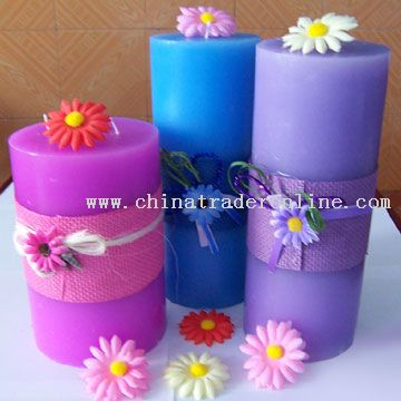 Pillar Candles from China