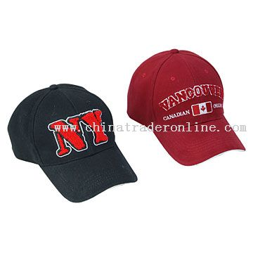 Baseball Caps with Towel Embroidery