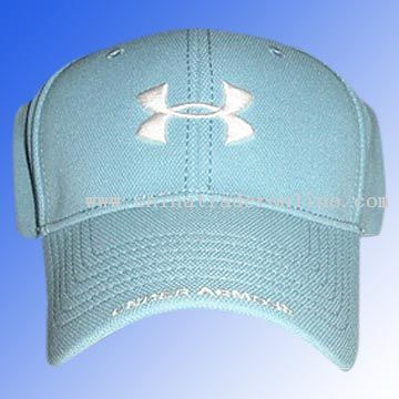 Baseball cap with 3D embroidery