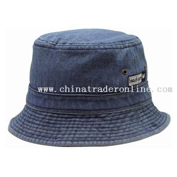 Jeans washed bucket hat