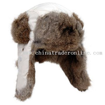 Rabbit Fur Hat from China