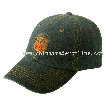dirty washed jeans Baseball Cap