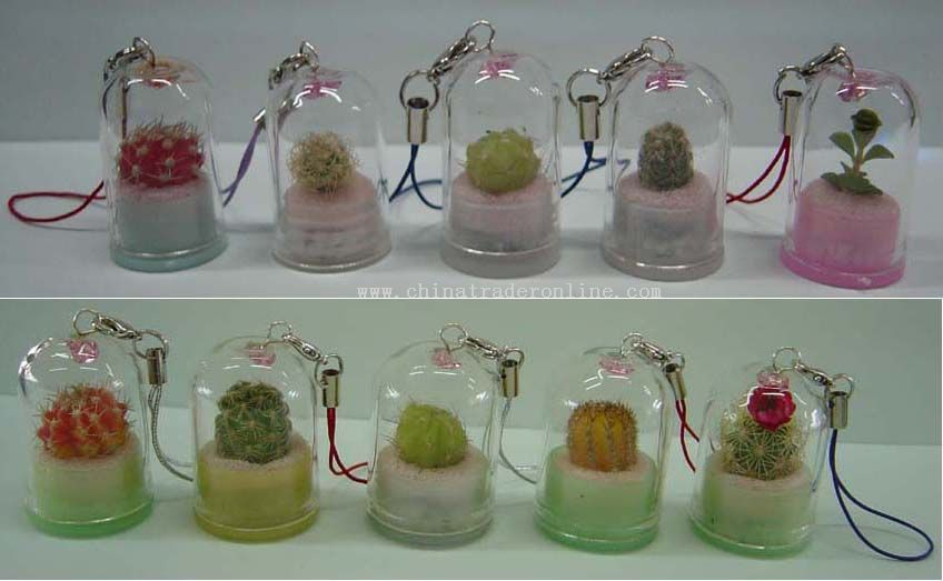 Mini Plant Key Chain