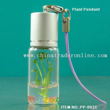 Mobile Plant Charm from China
