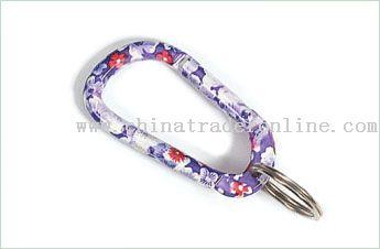 Colorful Carabiner Keychain