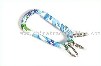 Colorful Carabiner Keychain