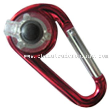 Carabiner with LED Light from China