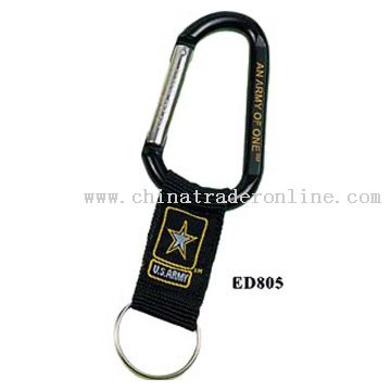 Carabiner with Webstrap