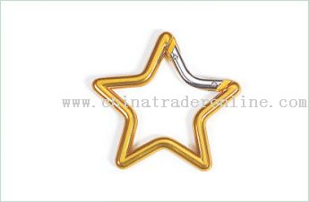 Star Shape Carabiner