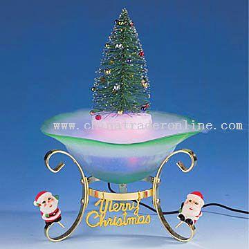 Christmas Decorative Mist Lamp