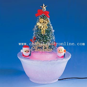 wholesale suppliers christmas decorations christmas mist decorative lamp