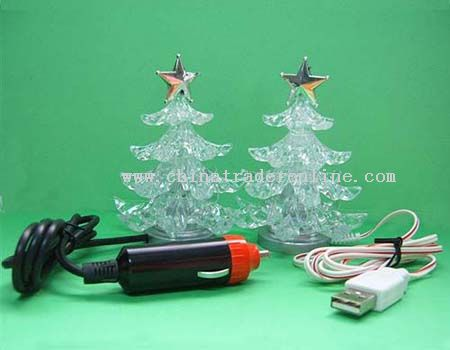 usb christmas trees