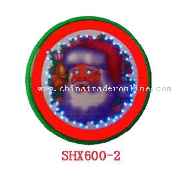 Fiber Optic Badge from China