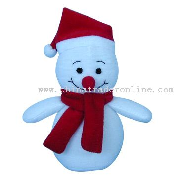 Stuffed Snowmen with Hat and Scarf