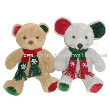 Christmas Bear & Mouse from China