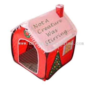 Christmas Pet Tent
