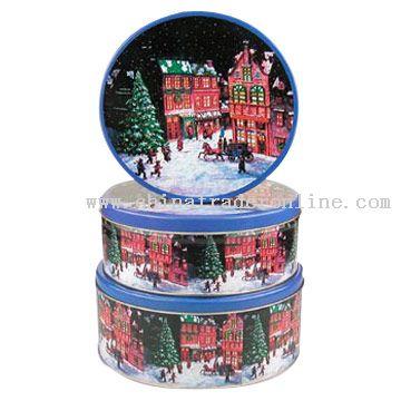 Christmas Tin Boxes