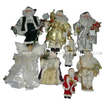 Santa Clause Figurine from China