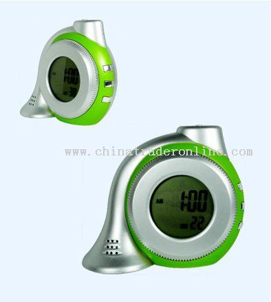 Snail-shaped Radio with Alarm Clock