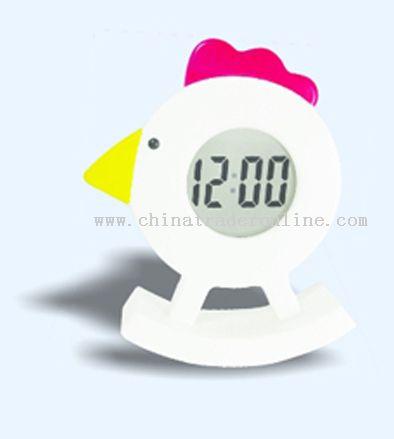 chicken shape alarm clock