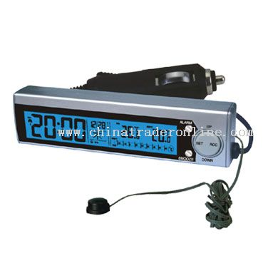 Radio Controlled Clocks for Car Use