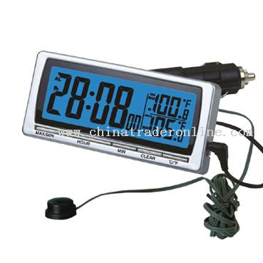 Weather Station Clocks for Car Use